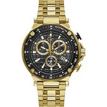 GC Y81001G2MF Men's Chronograph Gold Tone Wristwatch
