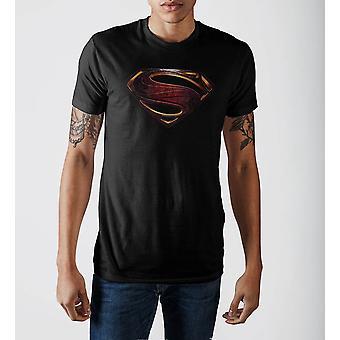 Justice league superman logo t-shirt