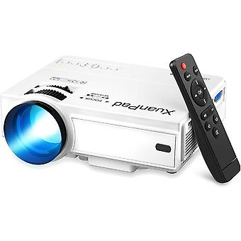 Video Projector, 55000 Hours Multimedia Home Theater Movie Projector
