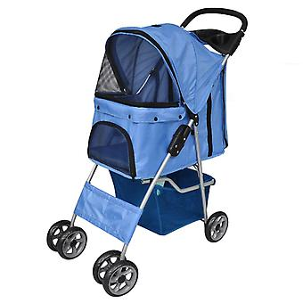 Dog Car Dog Buggy Blue
