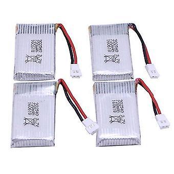 4 Delar uppladdningsbart lipobatteri (3.7v, 720mah lipo) för rc drones quadcopter syma x5 x5c x5sc x5sw, cheerson cx-30w, skytech m68, wltoys f949