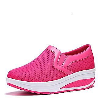 נשים גוון נעליים, הרמת משקולות להגדיל גובה נדנדה פלטפורמה נעלי ספורט