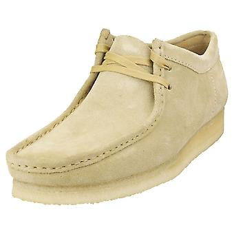 Clarks Originals Wallabee Mens Wallabee Schoenen in Esdoorn