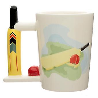 Tazza a manico a forma di pipistrello da cricket in ceramica