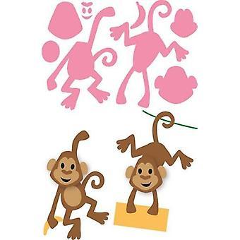 Marianne Design Sammlerstücke Schneiden stirbt - Eline's Monkey Col1399