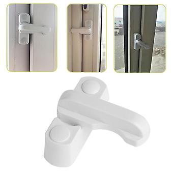 Plast rustfrit stål zink legering, Child Safe Security Window Door Lock Sikkerhed