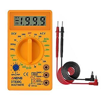 Handheld digital amper clamp meter current meter current clamp pincers voltmeter ammeter multimeter precision measurement tester