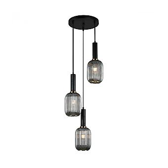 Lámpara Colgante Moderna Antiola Czarny