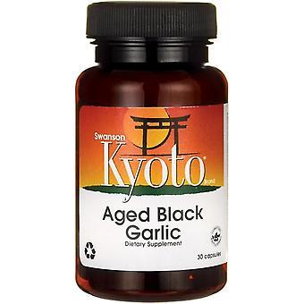 Swanson Aged Black Garlic 30 Capsules