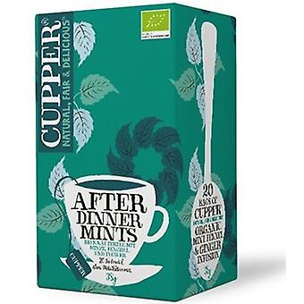 Cupper Mint Bio After Dinner Infusion 20 bags
