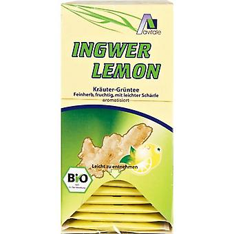 Madal Bal Ginger Lemon with Green Tea Infusions 20 Envelopes