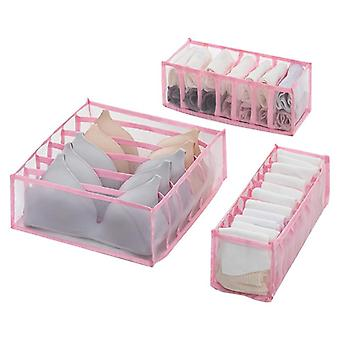 Foldable Underwear Storage Box With 6/7/11 Compartments Nylon Didier Organizer