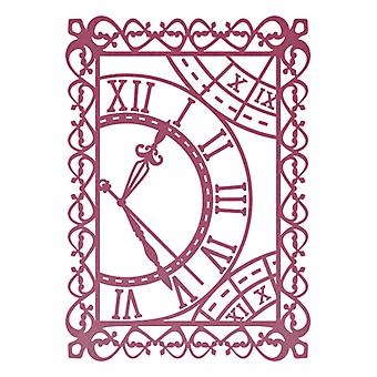 Ultimate Crafts Embossing Folder - Magnolia Lane Timeless Garden