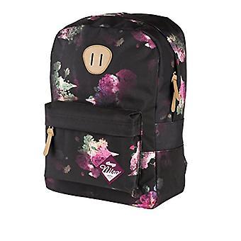Nitro Snowboards 2018 Casual Backpack, 45 cm, 20 liters, Black (Negro Rose)