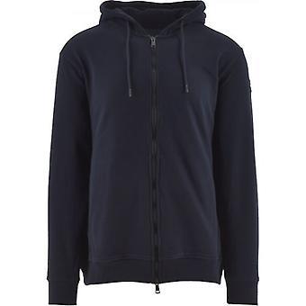 Пол и Акула Синий Наследие Логотип ФлисОвый свитер