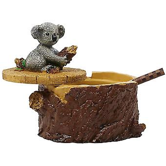 Ashtrays For Cigarettes Cute Resin Squirrel Ashtray With Lid For Home