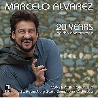 Puccini / Cilea / Mascagni - Marcelo Alvarez-20 Years on the Opera Stage [CD] USA import