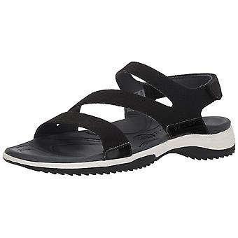 Dr. Scholl's Shoes Womens Day Trip Leather Peep Toe Casual Ankle Strap Sandals
