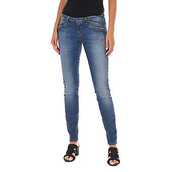 MET Mujeres Jeans X-Irina/Z Azul