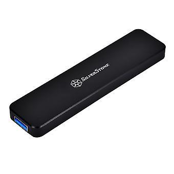 Silverstone USB 3.1 M.2 Gehäuse (SST-MS09B) - Schwarz