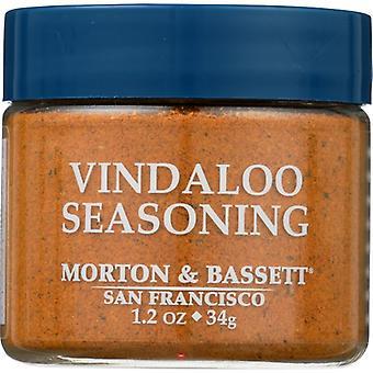 Morton & Bassett Seasoning Vindaloo, Case of 3 X 1.2 Oz