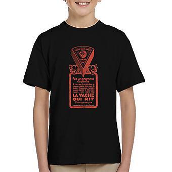 Den grinende Cow Pas Un Gramme De Perte Kid's T-shirt