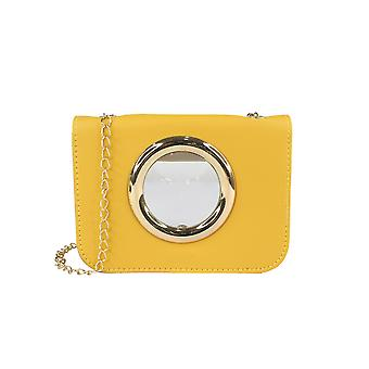 Transparent Crossbody Bag With Chain