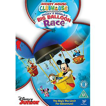 Mickey Mouse Clubhouse Mickey and Donalds Big Balloon Race DVD (2011) Tony Region 2