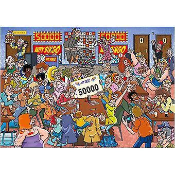 Wasgij Mystery 19 Bingo Blunder! Jigsaw Puzzle (1000 Pieces)