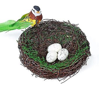 Slámové ptačí hnízdo Ptačí klec Ptačí budka pro papouška Křečka Králíka