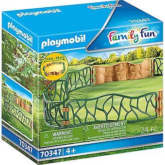 Playmobil 70347 Enceinte de zoo pour enfants en famille