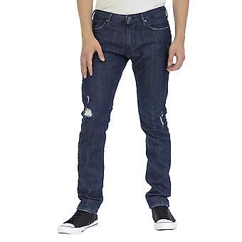 Armani Jeans Men 5 pockets Pants Slim Fit Ankle lenght  Denim