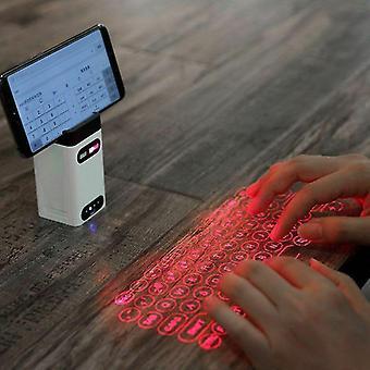 Bezdrátová projekce Qwert Mini Virtuální laserová klávesnice Bluetooth s funkční klávesnicí myši