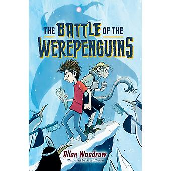 The Battle of the Werepenguins by Allan Woodrow