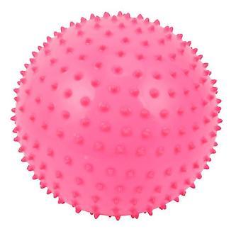 כדור אימון תינוקות בינוני בגודל 6 אינץ' כדור עיסוי לתינוקות (ורוד)
