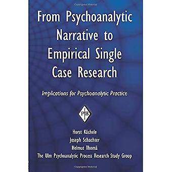 From Psychoanalytic Narrative to Empirical Single Case Research: Implications for Psychoanalytic Practice (Psychoanalytic Inquiry Book) (Psychoanalytic Inquiry Book Series)