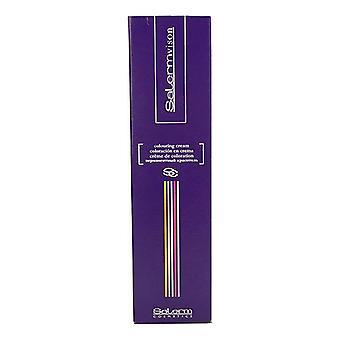 Colorante permanente Salermvison Salerm Nº 4,5 (75 ml)