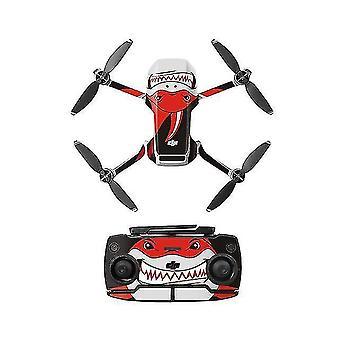 Remote control helicopters pvc sticker mavic mini drone decals controller skin stickers set for dji mavic mini accessories h