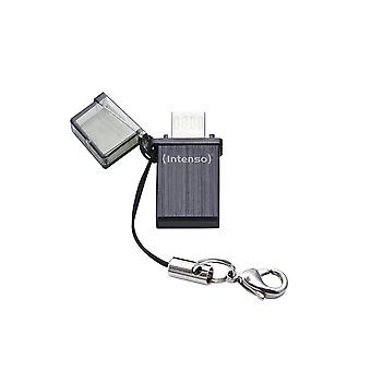 Mobile Line Memory Stick Mini On-The-Go USB 2.0 and Micro-USB Black 16 GB