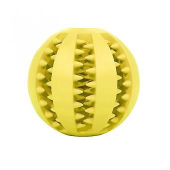 7cm Pet Dog Toy Interactive Pelotas de goma Pet Dog Cat Puppy Chew Toys Ball Teeth Chew Toys Tooth