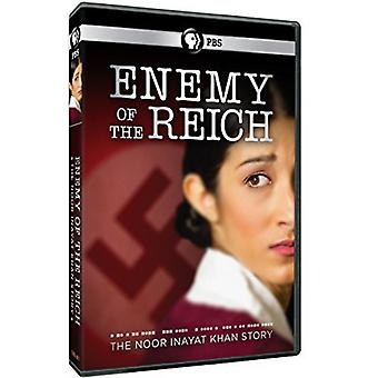 Fiendens rikets: The Noor Inayat Khan Story [DVD] USA import