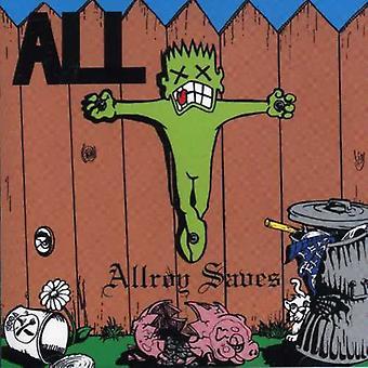 All - Allroy Saves [CD] USA import