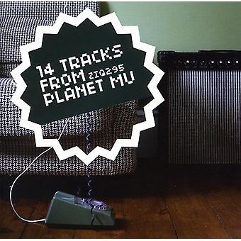 14 Tracks From Planet Mu - 14 Tracks From Planet Mu [CD] USA import