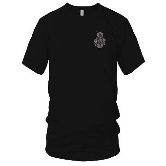 USAF Air Force 13th Bomb Sqn Devils Own Grim Reapers - Pilot Vietnam War Embroidered Patch - Mens T Shirt