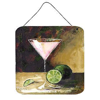 Lime Martini door Malenda truc muur of deur hangen Prints