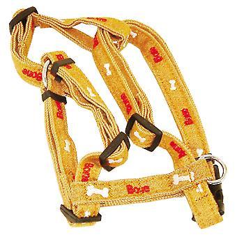 Vital Pet Products Bones Design Adjustable Dog Harness
