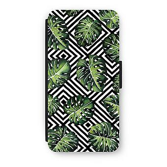 iPhone 6/6 s Plus Case Flip - jungle géométrique
