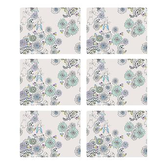 Stow Green Contemporary Peter Rabbit Set of 6 Placemats