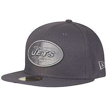 New Era 59Fifty Cap - GRAPHITE New York Jets