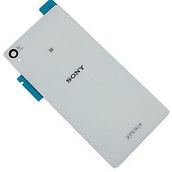 För Sony Xperia Z4-rygg-vit-original kvalitet